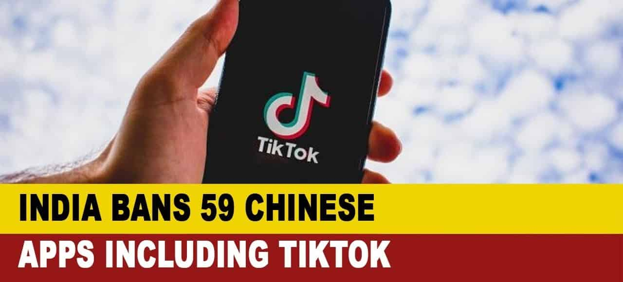 India Bans Nearly 60 Chinese Apps, Including TikTok and WeChat