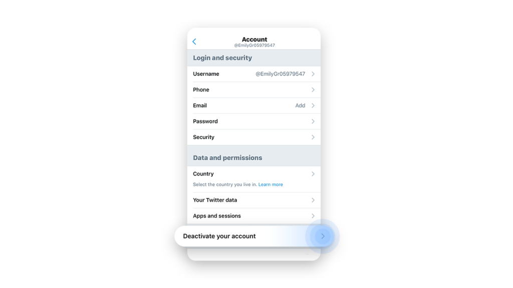 can you temporarily deactivate twitter for ios