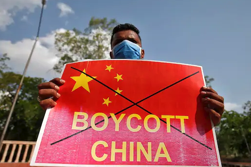 Chinese Apps blocked in India