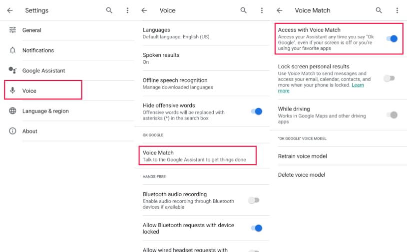 how to stop google assistant on android