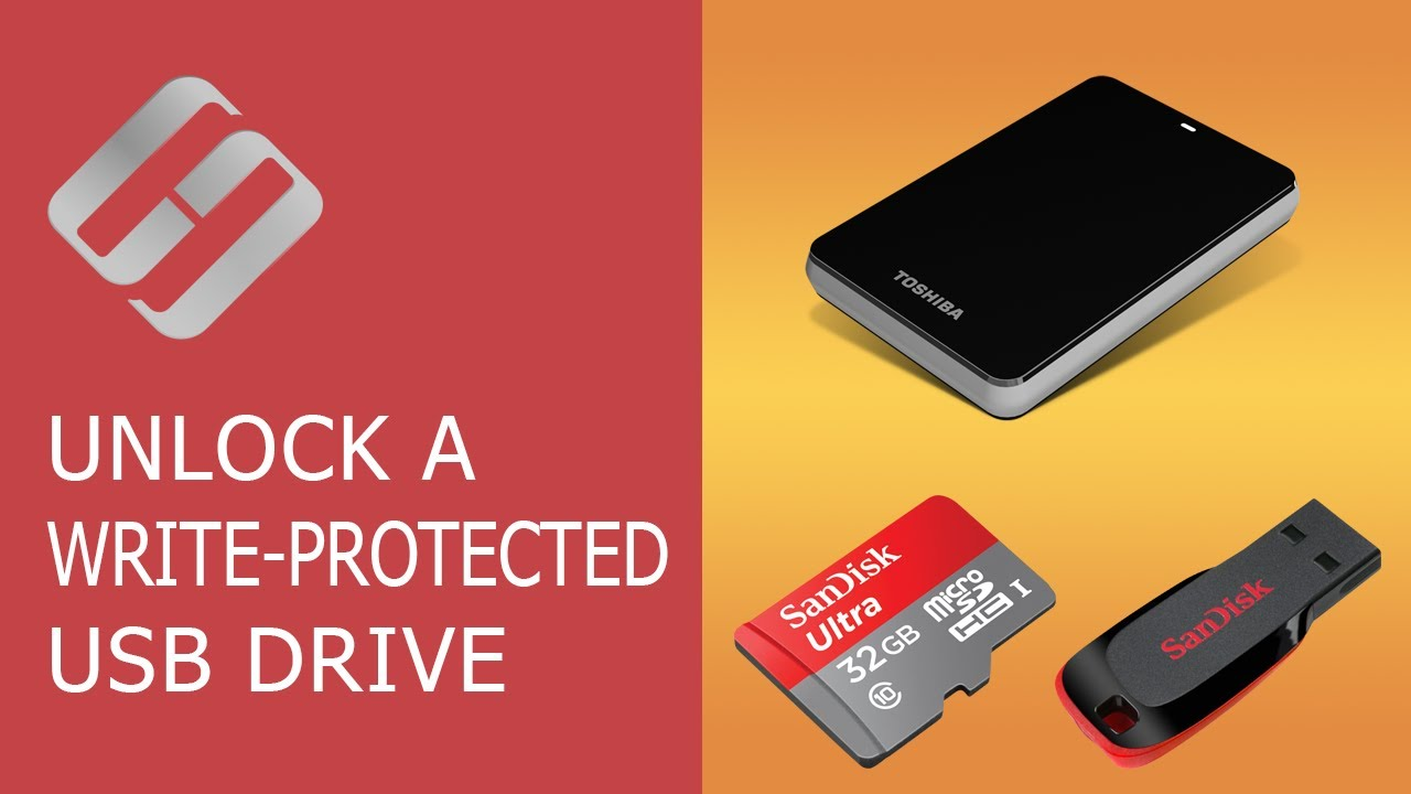 How To Disable Write Protection In SD Card Or Pen Drive