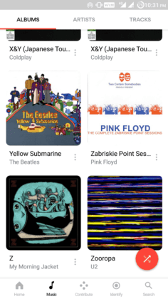 what is the best free music app for android