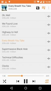 VLC best music player for android auto