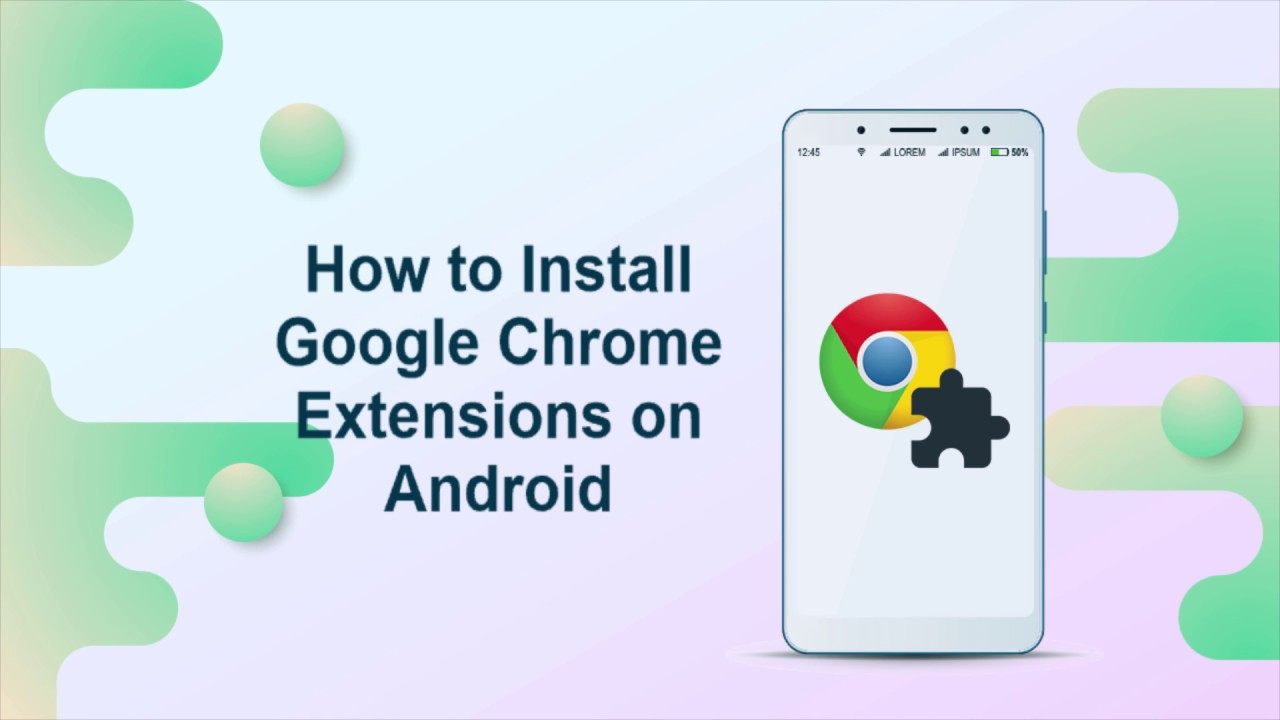 extensions for android chrome