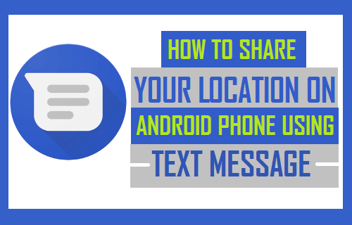 Share your Location in text