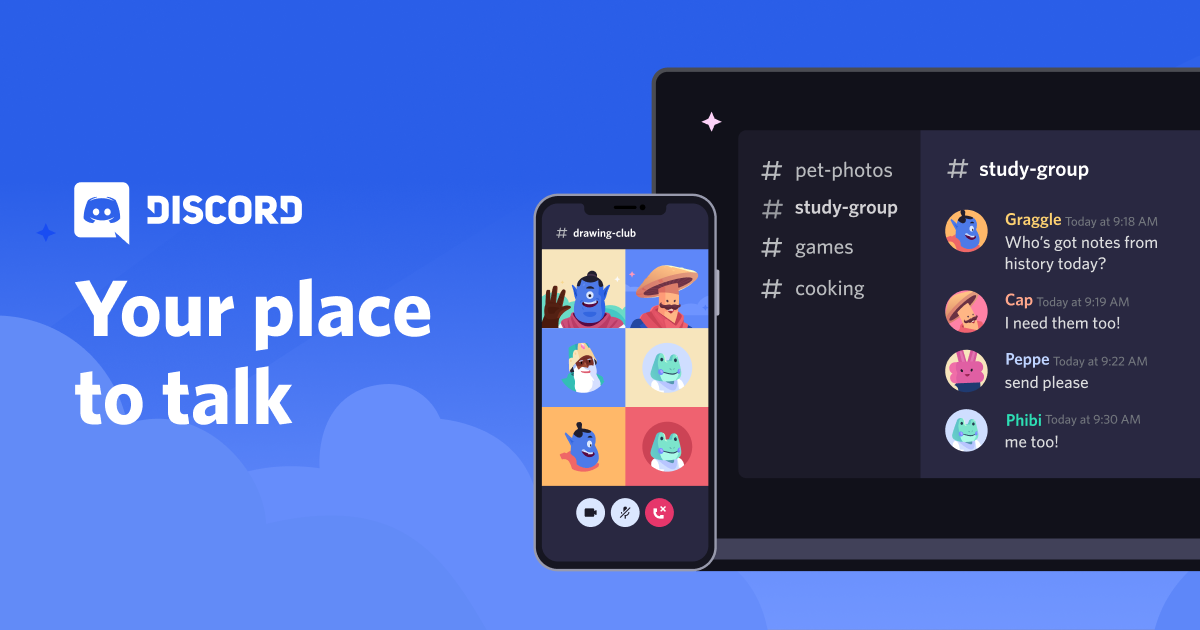 Discord cross platform chat apps
