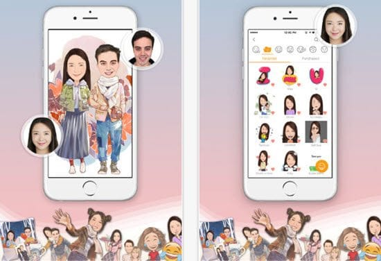 MomentCam Cartoonizer Apps for android