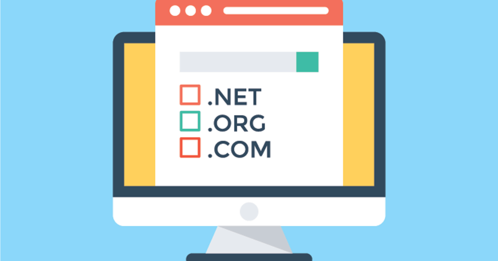 Get a domain name for business