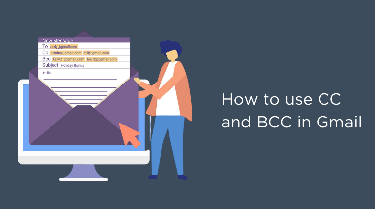 How to CC & BCC in Gmail